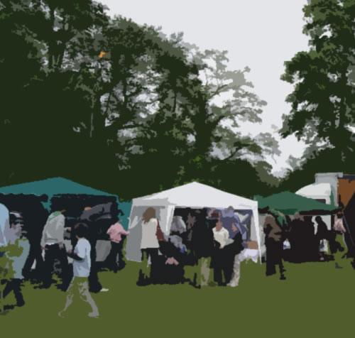 Stalls, events, rides & other fun for children & families at Oatlands Village Fayre Weybridge Surrey