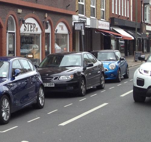 Parking in Baker Street Weybridge Surrey