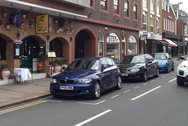 Parking Project – Weybridge Town Business Group in association with Weybridge Society