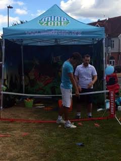 Mind Zone tennis at Prudential RideLondon-Surrey 100 In Weybridge