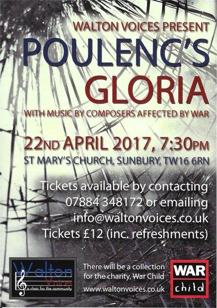 Walton Voices Easter Concert in Sunbury