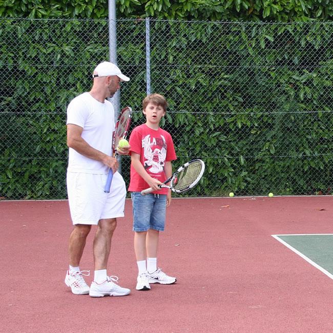 Junior Coaching session at Weybridge Lawn Tennis Club Walton Lane
