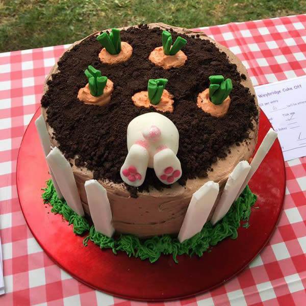 Overall Winner of Great British Bake Off Inspired Cake Competition in Weybridge Elmbridge Surrey