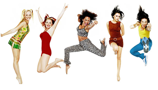 Spice Girlz are Spice Girls Tribute Act at Red Bar & Restaurant Queens Road Weybridge Surrey