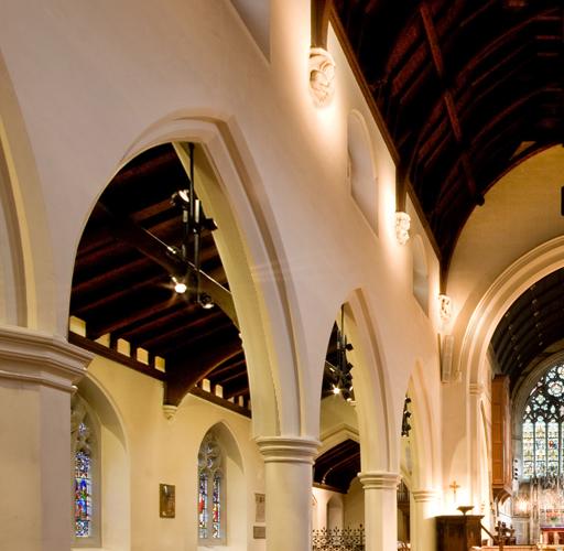 Friends Of St James Church Weybridge help maintain, preserve, repair and restore this beautiful building