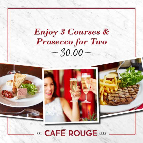 Enjoy a *FREE* Gin Bloom or Mocktail* at Café Rouge to celebrate the launch of their new drinks collection. *T&C's apply