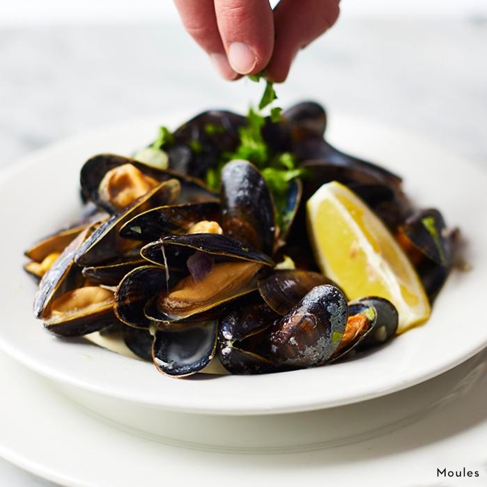 Moules (Mussels) - Cafe Rouge Weybridge Restauarant - Summer Menu
