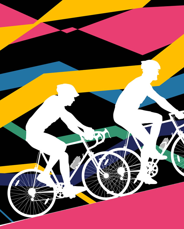 Ride London Surrey Cycling Event In Weybridge with Artisan Food & Craft Market