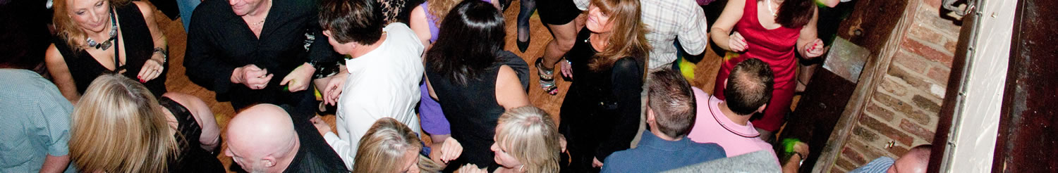 Dance Parties Plus DJs play a great variety of music from 80s to date and there are always lots of new people to meet
