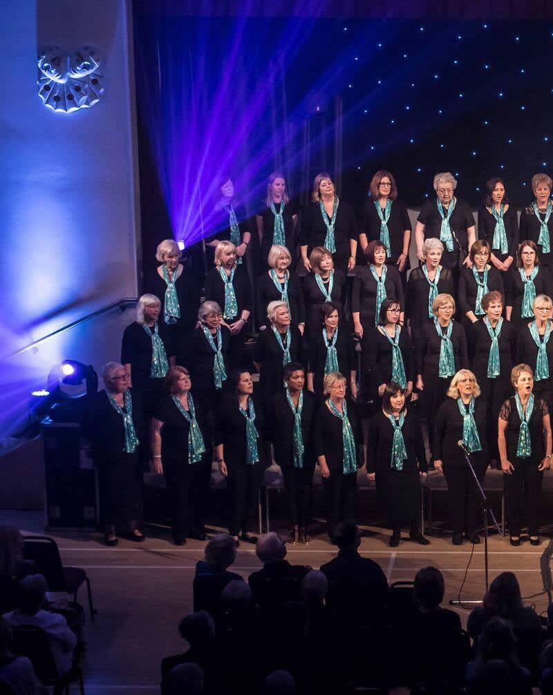 Elmbridge Ladies Choir in Concert at Addlestone Community Centre - Concert in Aid of YourSanctuary Charity