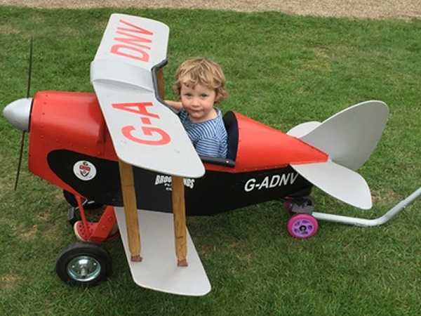Brooklands Family Fun Day Child Toy Plane Ride