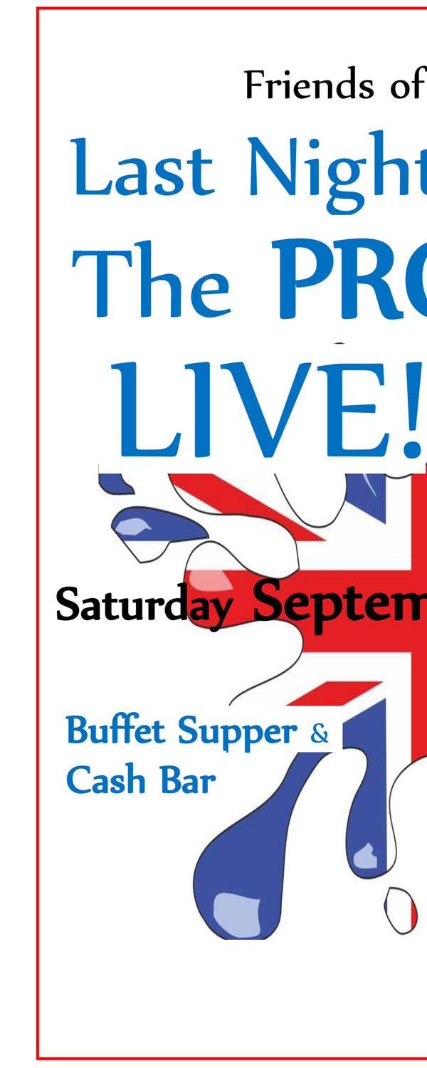 Last Night Of The Proms Live! - Fundraising Event Supporting St James' Weybridge Church Building