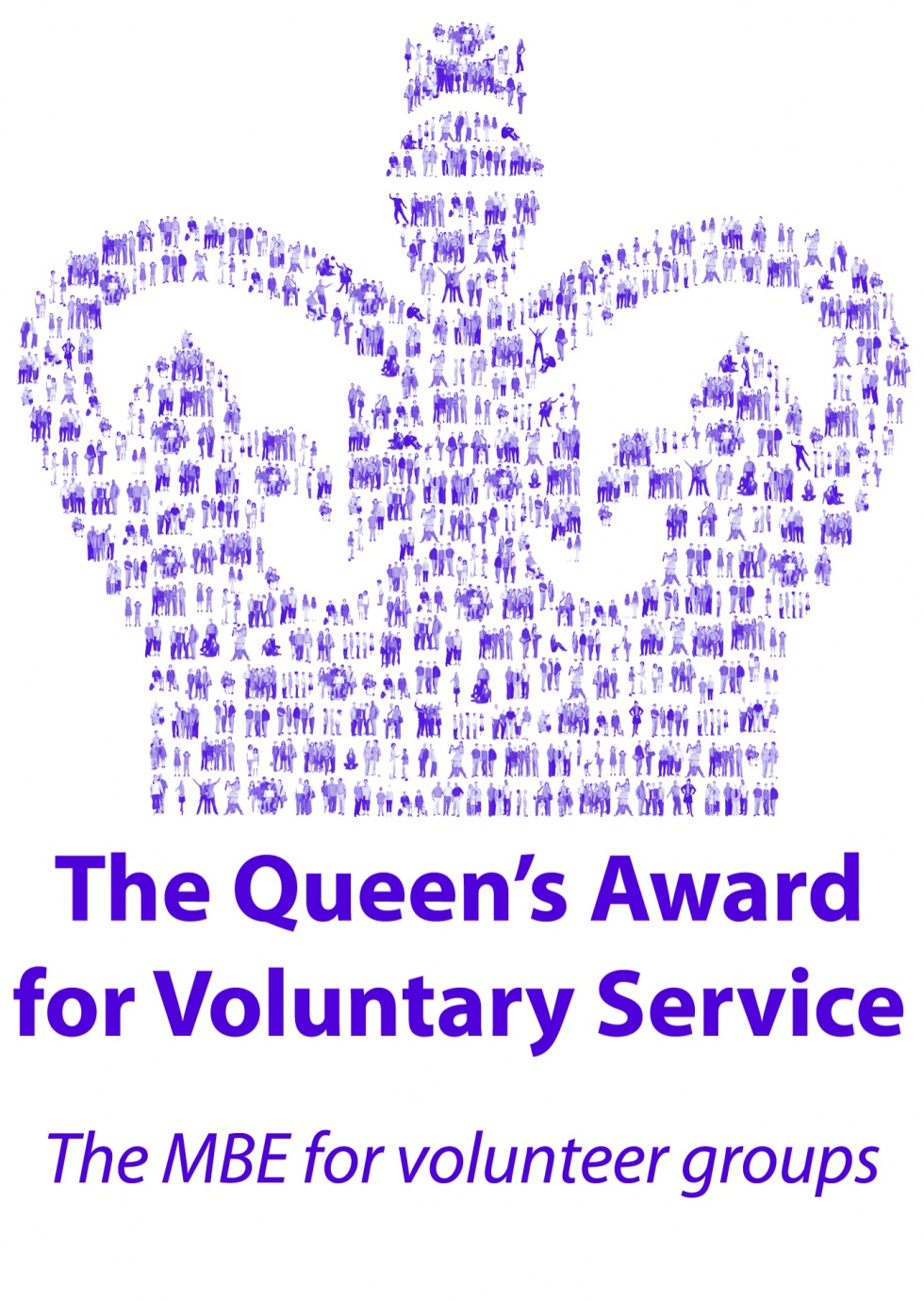 The Queens Award for Voluntary Service Logo