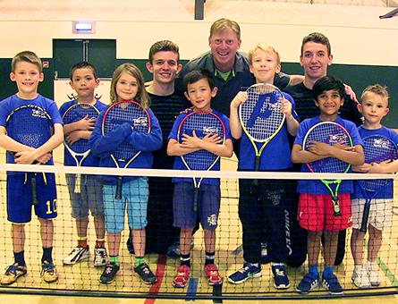 Tennis Coaching for Boys & Girls in Weybridge Cobham & Woking Surrey