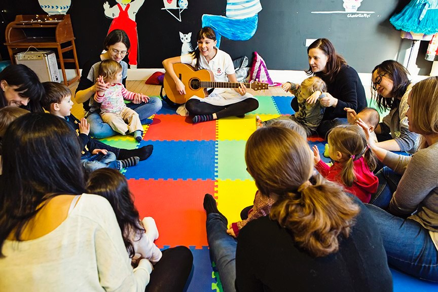 Music Classes for Babies & Toddlers in Weybridge