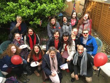Social events for foreign students of English in Weybridge Elmbridge Surrey