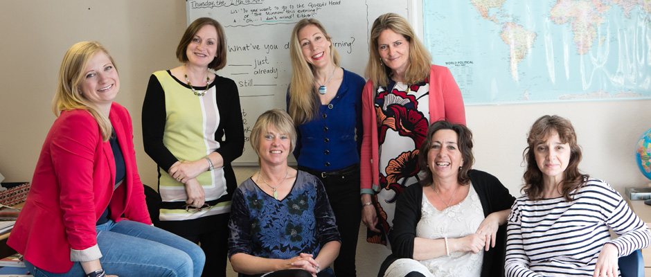 English Teachers and Office Manager at Weybridge International School of English