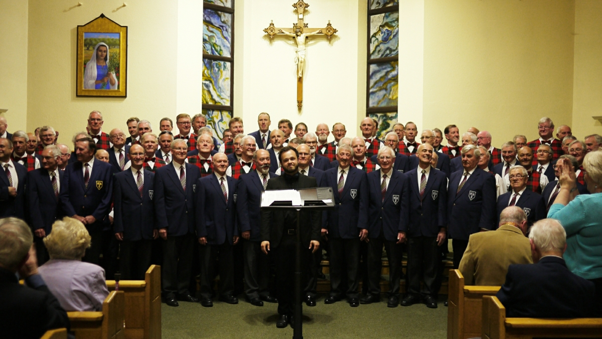 Weybridge Male Voice Choir 2017 Concert - Musical Director, Jonathan Kilhams