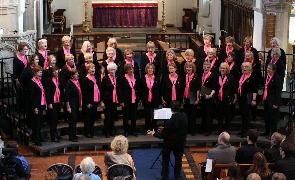 Treble Clef Ladies Choir Christmas Carol Concert at St James Church, Weybridge, Surrey