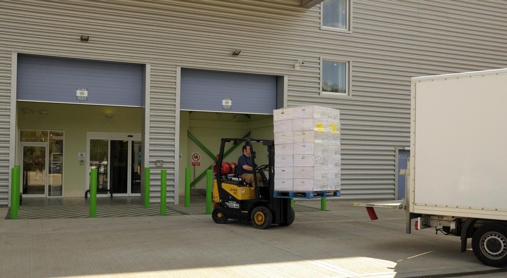 Business Corporate Storage Warehouse Rental