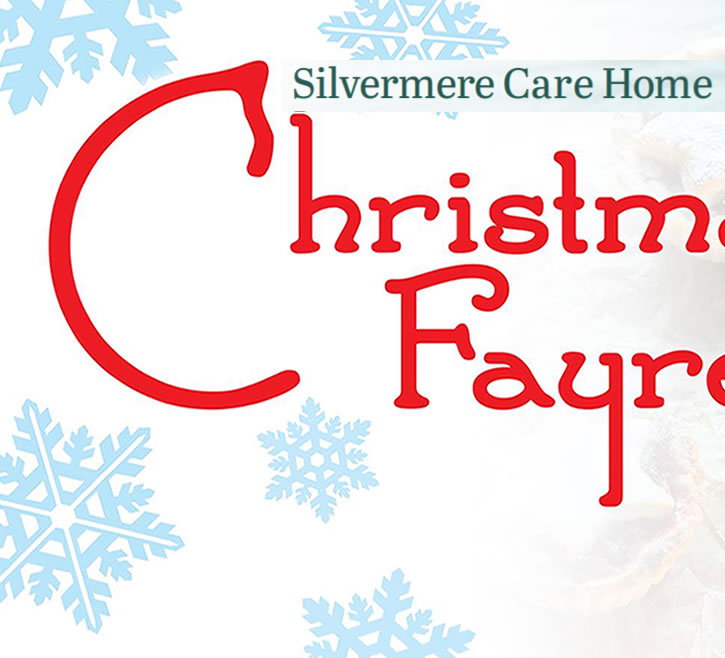 Christmas Fayre At Silvermere Care Home On The Border OF Weybridge & Cobham Surrey