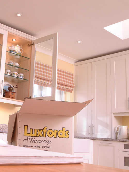 Home Moves Including Packing by Luxfords Removers of Weybridge Surrey