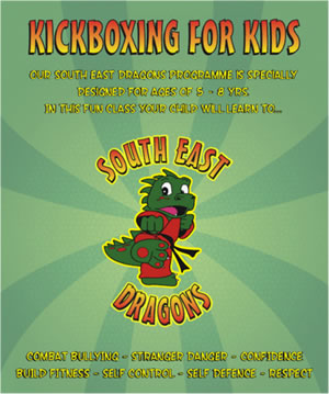 Kickboxing for Kids South East Dragons
