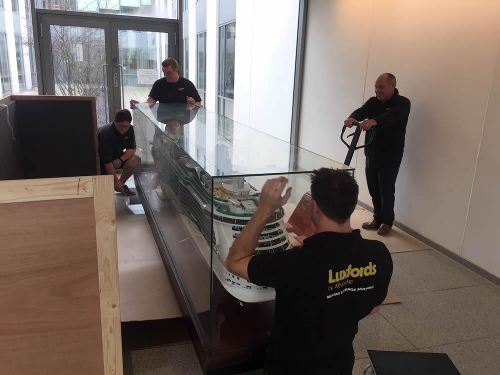 Luxfords Office Moves Weybridge Surrey