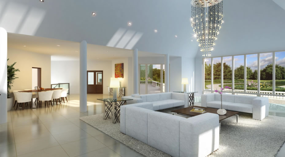 New Home Builders Open Plan Lounge