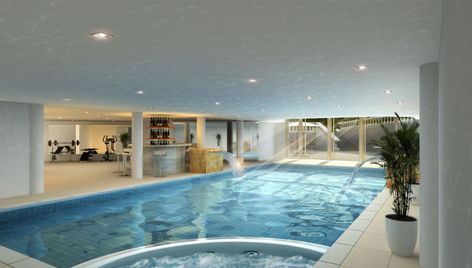 New Home Builders Swimming Pool