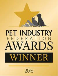 Pet Industry Federation Award Winner 2016