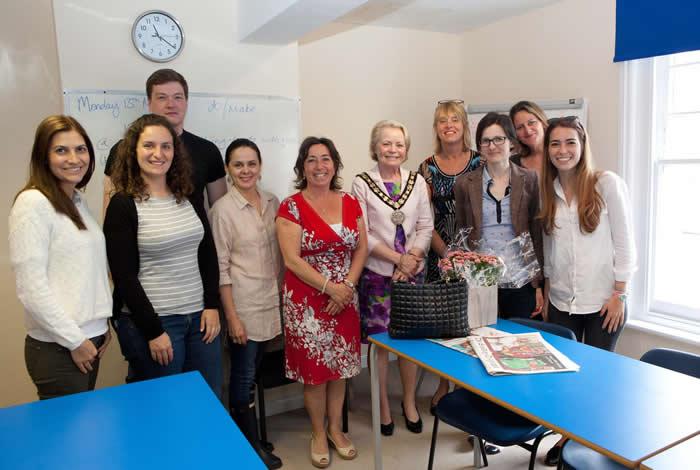 Weybridge International School of English Baker Street - Mayor Visit