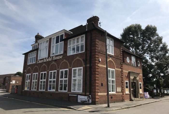 Relate West Surrey are at Churchfield House, Churchfield Road, Weybridge KT13 8DB