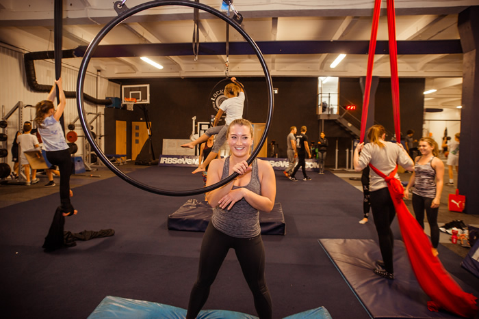 Aerial Fitness is a fun and exciting way to strengthen your upper body and core, improve balance and coordination