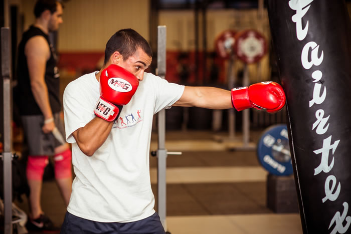 Boxfit 101 Training at Locker 27 Gym for professionals and amateurs - People who want to get fit
