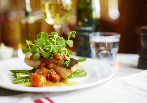 Cafe Rouge Weybridge Restaurant - Fish Dish From Menu