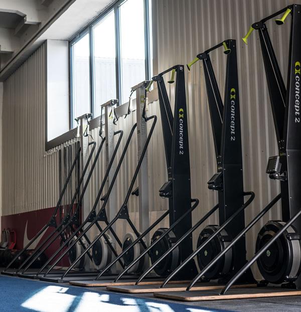 Concept 2 Rowing Machines at Locker27 Gym
