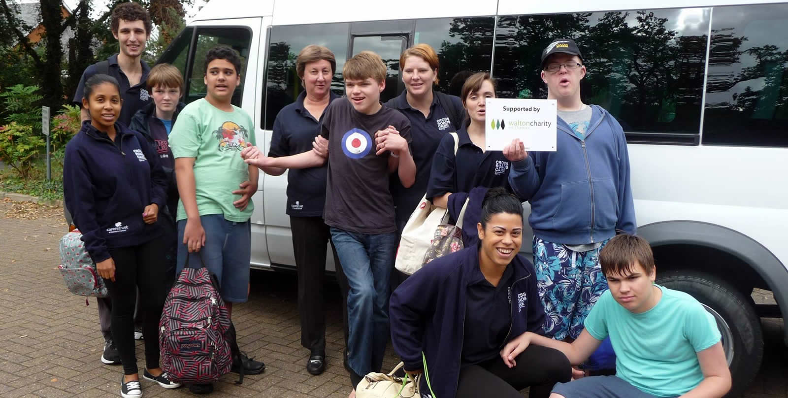 Crossroads Care Surrey Young People With Disabilities On Trip To Give Carers A Respite Break