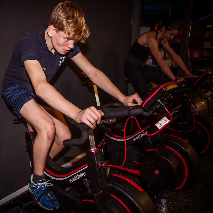 Fitness training for children and teenagers at Locker 27 Gym Youth Academy Weybridge Surrey