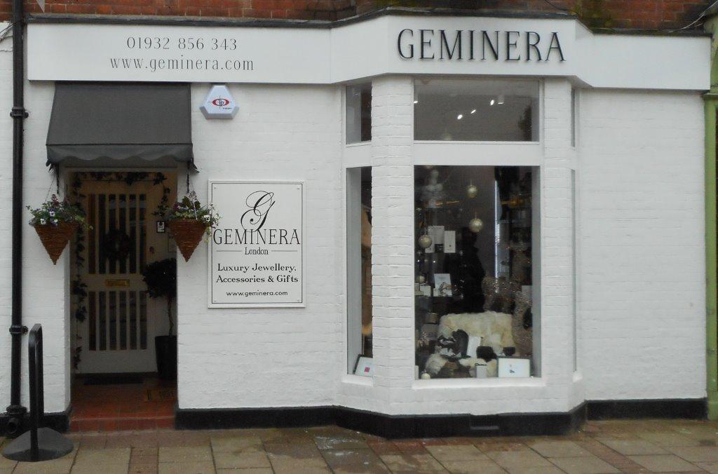Geminera Jewellery and Gift Shop Weybridge Surrey
