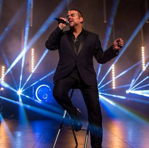 Joseph Sansome - George Michael Tribute Performing Hits at Red Bar and Restaurant Weybridge Surrey