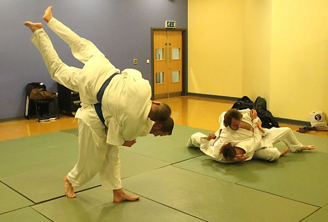 Judo Class For Adults on Thursdays at Elmbridge Xcel Leisure Centre Walton-on-Thames Surrey