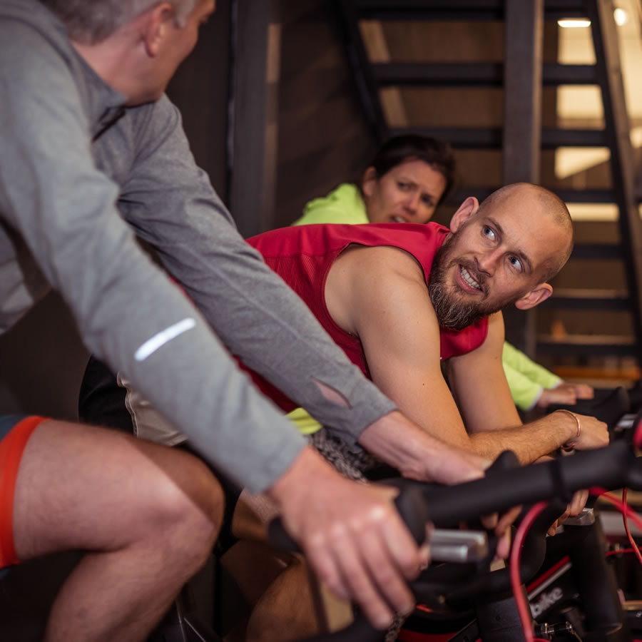 Locker 27 Gym - Community Spirit - Spinning Type Indoor Cycling Training and Classes