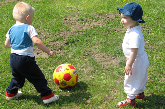 Kids Todlers Play Group Sports