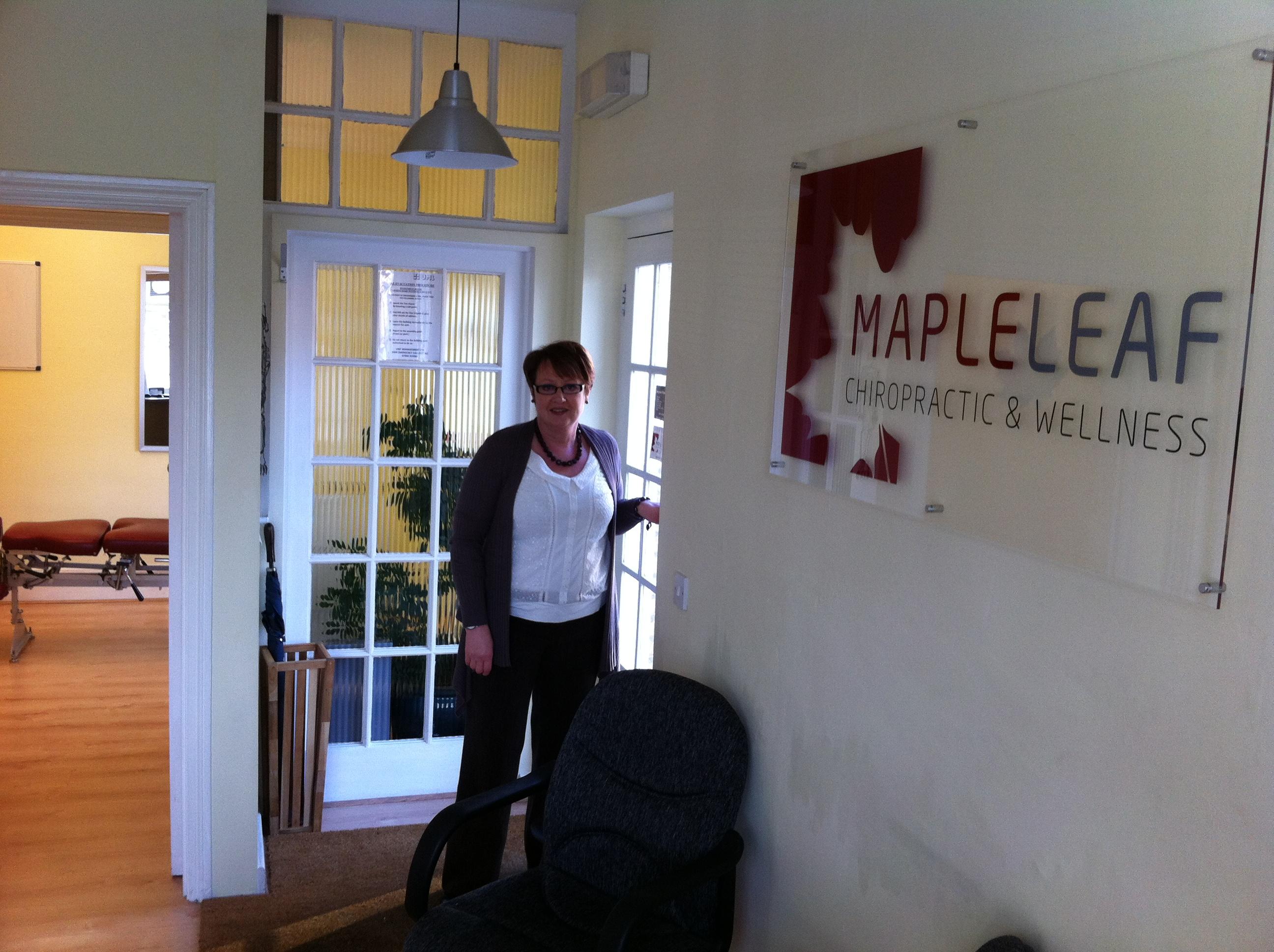 Maple Leaf Chiropractor and Wellness Centre Weybridge Surrey