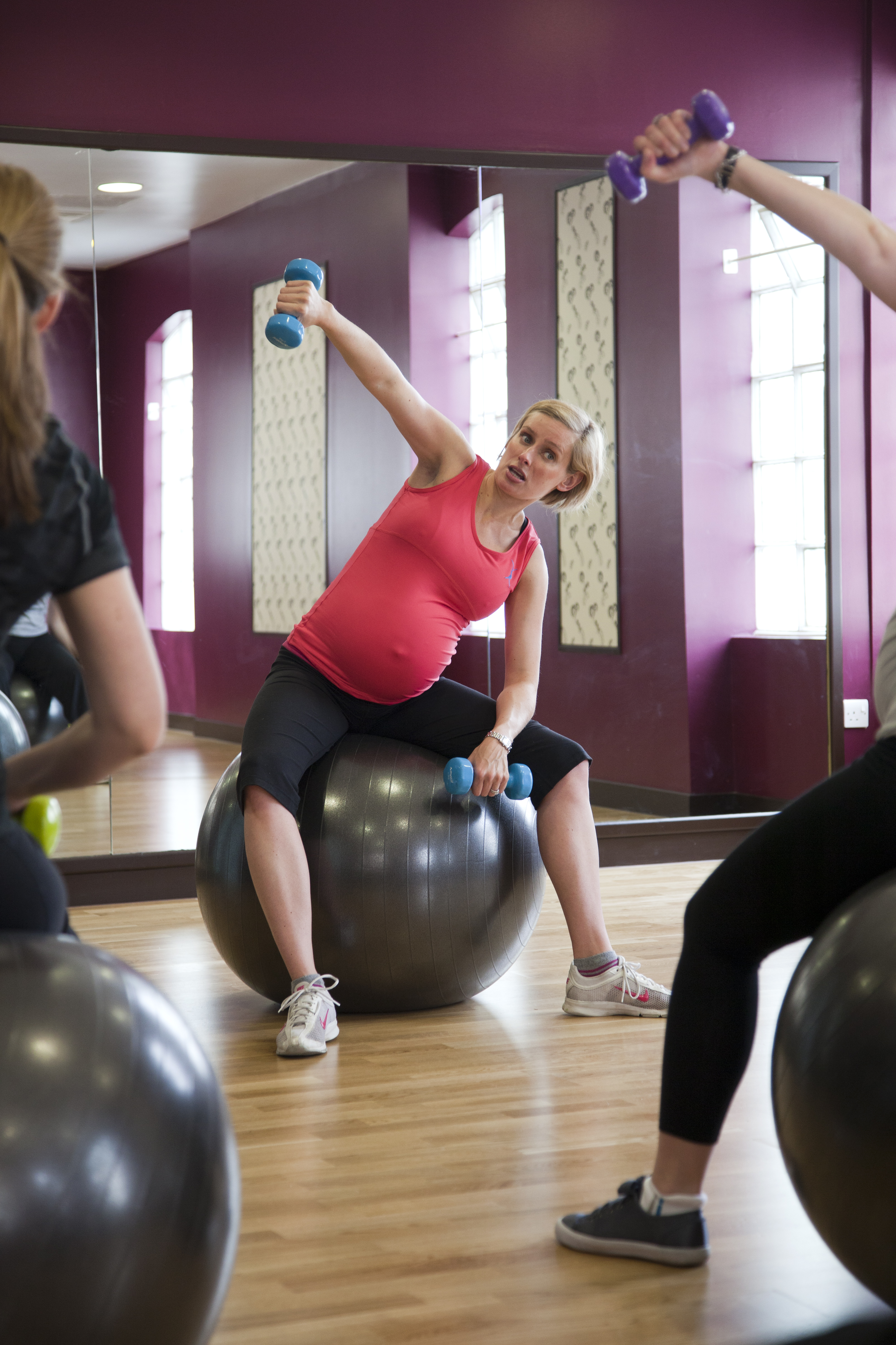 Maternity Group Exercise Classes Surrey