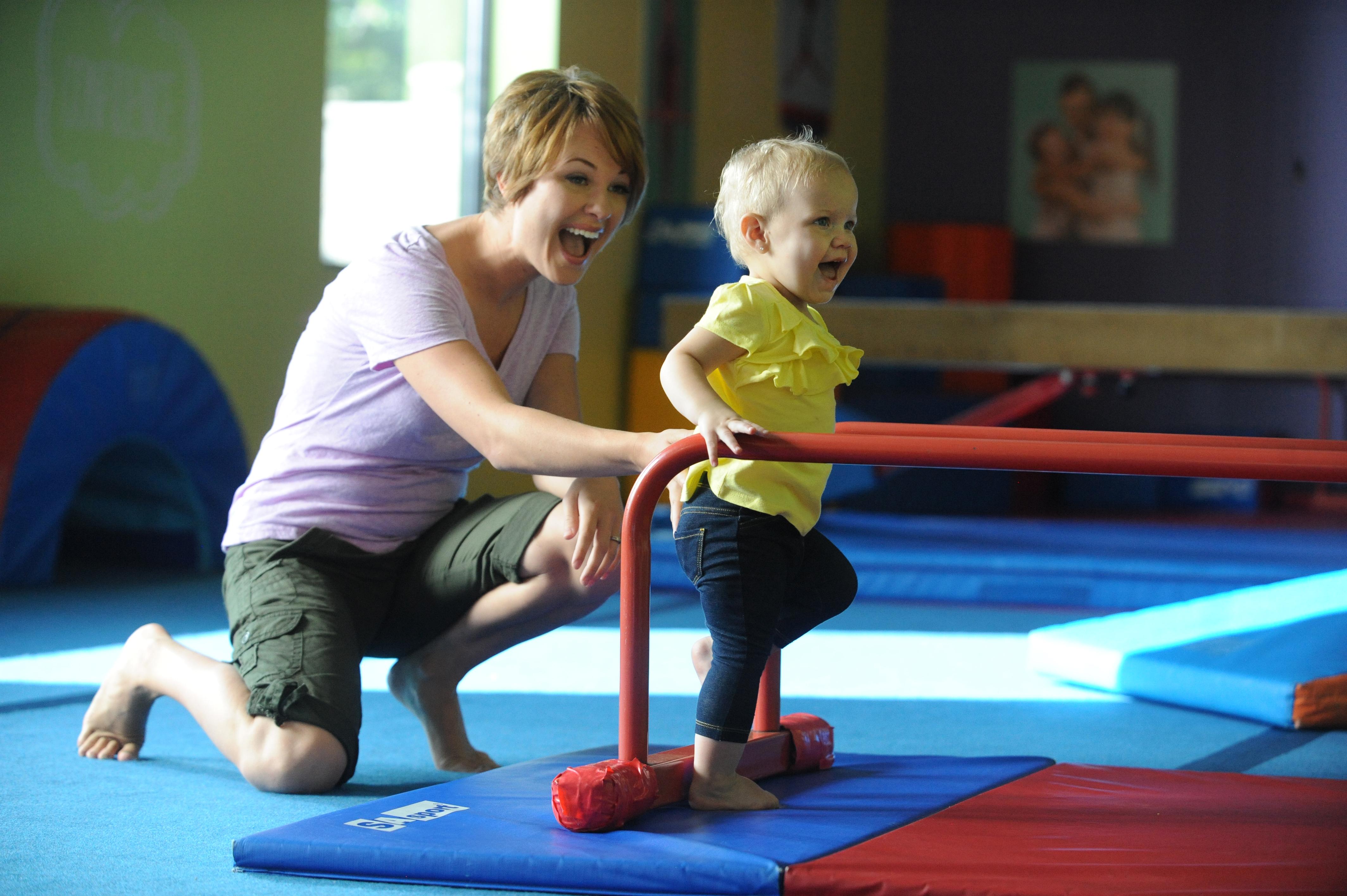 Parent and Todler Gymnastics