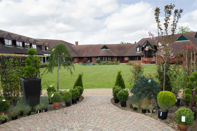 Princess Alice Hospice Charity Gardens West End Esher