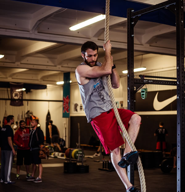 Rope Climbing Exercises - Fitness Classes and Training at Locker27 Gym
