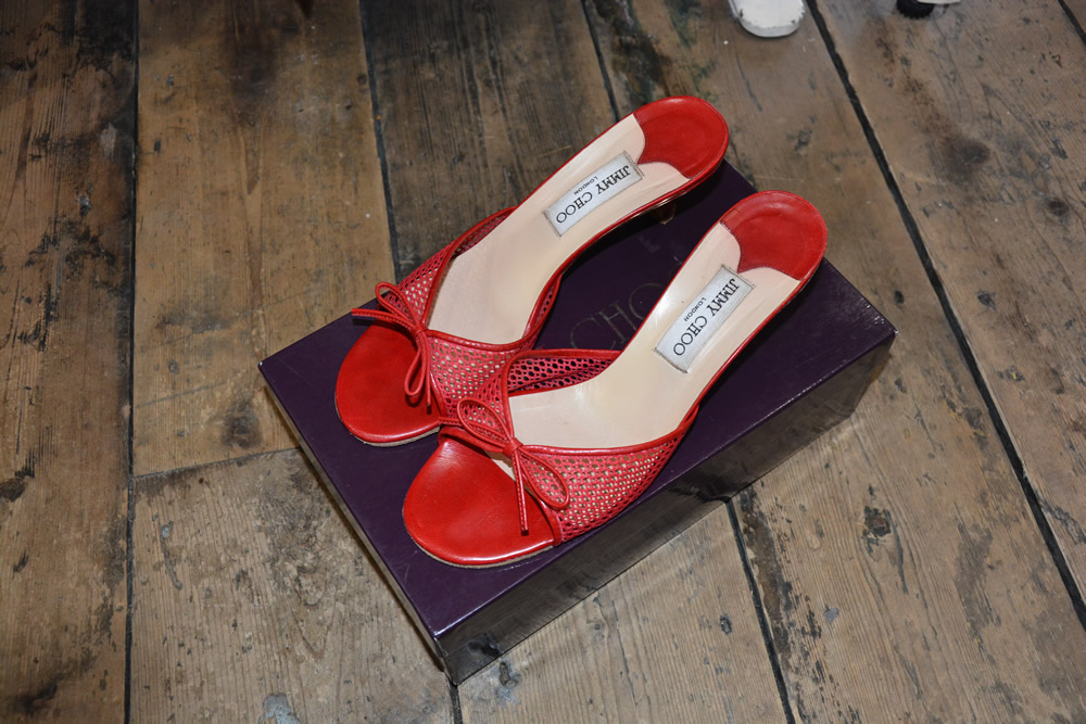 Shoes Coats Bags Scarfs Jumpers Jeans Leggings Gloves on Weybridge Charity Shop